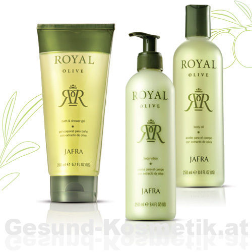 ROYAL OLIVE | BODY SET | 3 PRODUKTE