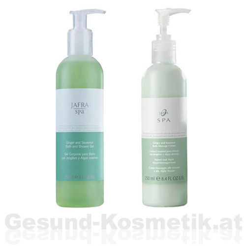 SPA | INGWER & ALGEN BASIS SET | 2 PRODUKTE