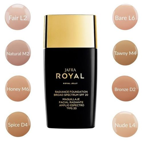 ROYAL Make-up für strahlenden Teint SPF 20