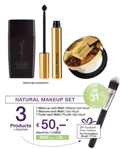 NATURAL MAKE-UP SET | 3 PRODUKTE