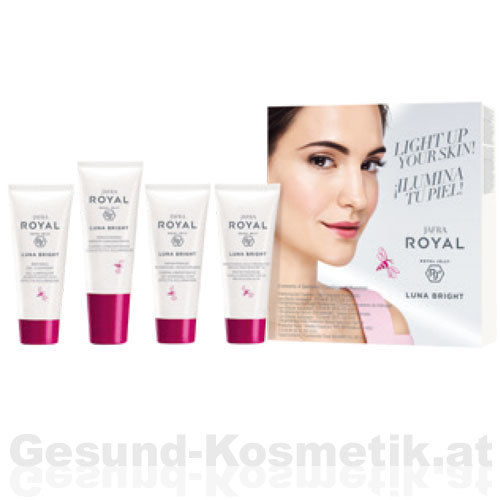 ROYAL LUNA BRIGHT | Reisegrößen Set | 4 Produkte